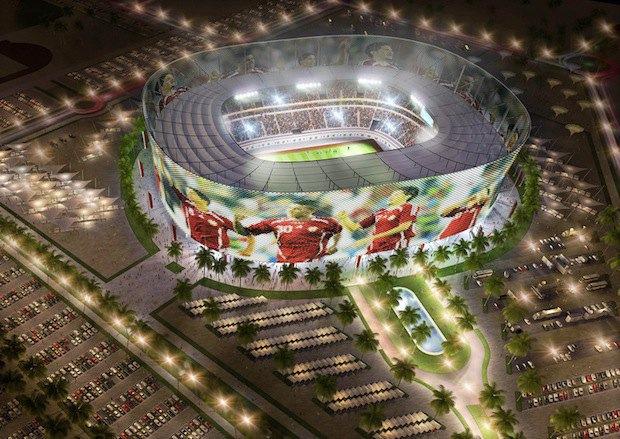 Проект футбольного стадиона в Катаре