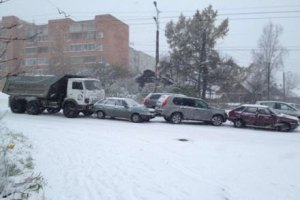 За останню годину в Москві відбулося понад 500 ДТП