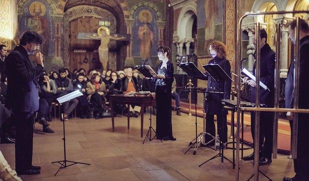 L'Homme Armé: David Lang, Guillaume Dufay в Кирилловской церкви