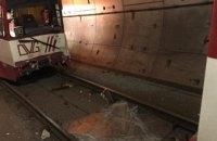 При столкновении двух поездов метро в Германии пострадали 35 человек