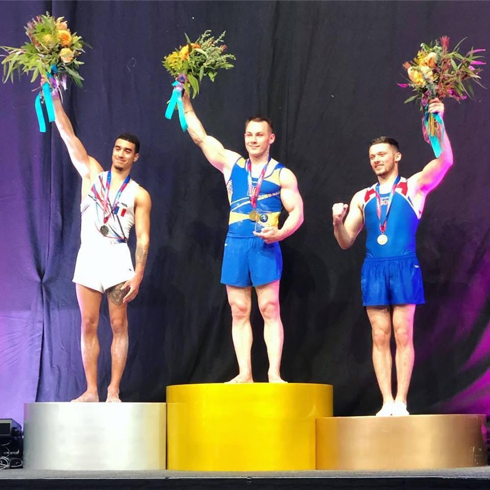 Игорь Радивилов взял золото в опорном прыжке