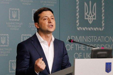 Зеленский предложил Путину встретиться в Минске при участи Трампа, Мэй, Меркель и Макрона