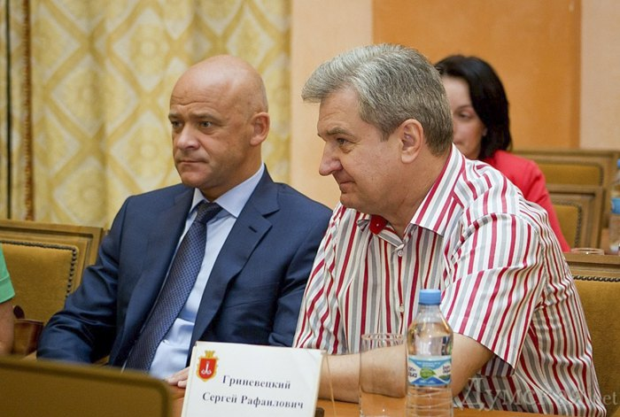 Сергей Гриневецкий и Геннадий Труханов