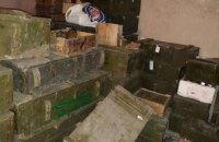 """ГПУ и СБУ нашли на базе полка """"Днепр-1"""" списанное оружие и боеприпасы из зоны АТО (обновлено)"""