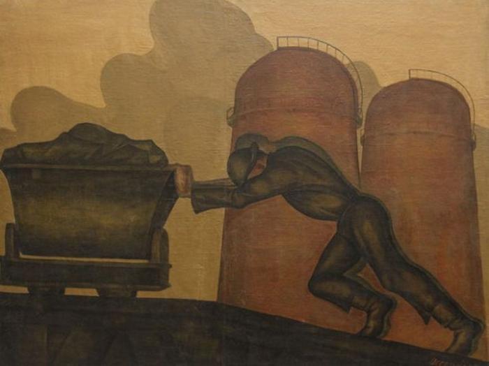 Иван Лысенко. Откатчики. 1927