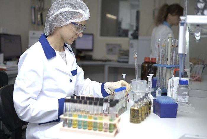 Контроль качества в лаборатории *Биофарма*