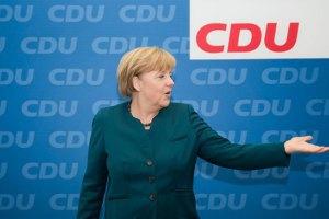 Меркель и ее партия поддержали адресные санкции в отношении украинских чиновников