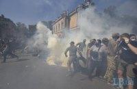 Під час акції на Банковій постраждав телеоператор