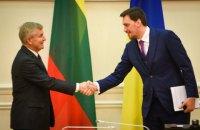 """Гончарук и глава сейма Литвы обсудили недопустимость реализации """"Северного потока-2"""""""