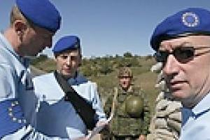 ЕС решил пока оставить своих наблюдателей в Грузии