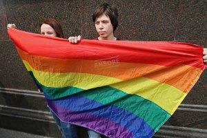 В Москве полиция разогнала согласованную ЛГБТ-акцию