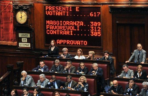 Депутати італійського парламенту голосують стосовно можливості арешту депутата Марко Міланезе, який підозрювався у корупційних діях