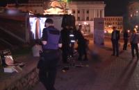 Драка между двумя бомжами на Майдане завершилась убийством