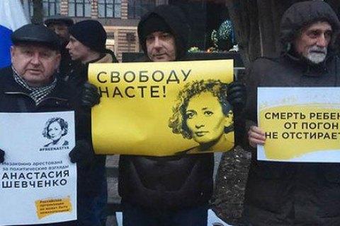 """В России задерживают участников """"Марша материнского гнева"""""""