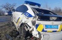 У Запорізькій області зіткнулися 7 авто, серед них машини швидкої і поліції