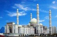В Казахстане горит крупнейшая в Центральной Азии мечеть