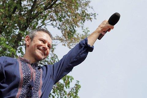 Вакарчук пообіцяв, що в списку його партії чинних нардепів не буде