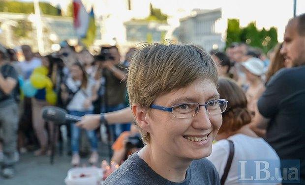 Сестра Олега Сенцова, Наталья Каплан