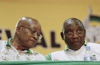 Президент ПАР пішов у відставку