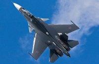 На учениях в России упал истребитель Су-30