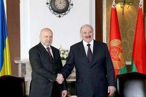 Турчинов розповів Лукашенкові про вбитих терористів у Слов'янську
