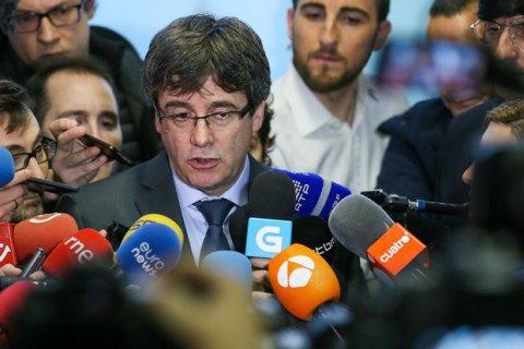 Пучдемон вийшов на свободу під заставу в 75 тисяч євро