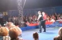 У Білій Церкві цирковий ведмідь напав на глядачів