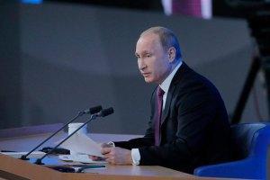 Путін заявив, що РФ допомагатиме сепаратистам на Донбасі