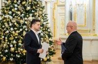 Зеленський прийняв вірчі грамоти у послів Греції та Канади