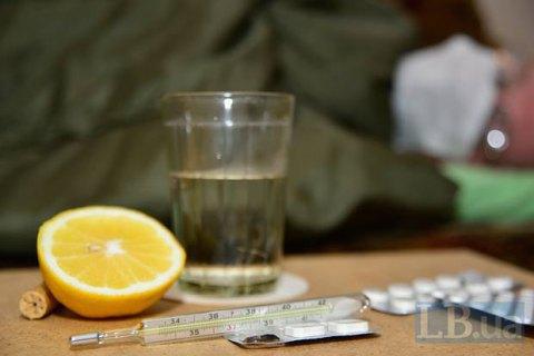Шість смертей через грип зареєстровано в Україні за тиждень