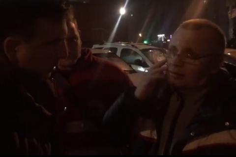 Саакашвили заявил, что его водителя избили
