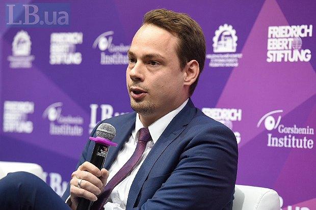 Директор представительства Фонда Эберта в Украине и Беларуси Марсель Рьотиг