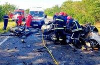 У ДТП під Одесою загинули шестеро осіб, троє постраждали (оновлено)
