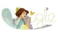 Google разместила на логотип портрет Соломии Крушельницкой
