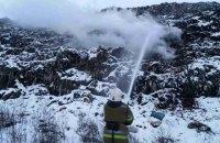 В Полтаве горела мусорная свалка (обновлено)