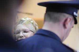Тимошенко едва ходит из-за боли в спине