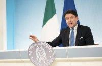 Прем'єр Італії зібрався у відставку на тлі політичної кризи