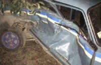 В Одесской области пьяный водитель протаранил полицейский ВАЗ, пострадал патрульный