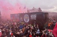 """Фанаты """"Ливерпуля"""" перед матчем Лиги Чемпионов атаковали клубный автобус """"Манчестер Сити"""""""