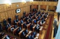 Партия венгров ушла с первого заседания Закарпатского облсовета