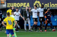 Матч чемпионата Испании был прерван из-за расизма