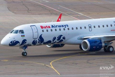 Лоукост Buta Airways запустив маршрут Київ-Баку