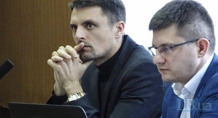Прокурори САП Валентин Мусіяка і Максим Кравченко (зліва-направо)