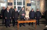 У Нових Санжарах поліція затримала 24 мітингувальників проти приїзду евакуйованих з Китаю