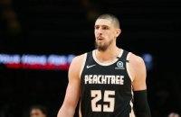 Українець Лень провів дебютний матч у НБА за свою нову команду