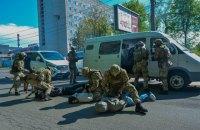 Антитеррористические учения с участием тысячи силовиков и 100 единиц спецтехники провели в Виннице