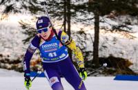 Українська біатлоністка стала кращим стрільцем Кубка світу