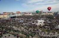Полиция Чечни насчитала на митинге в Грозном более миллиона человек