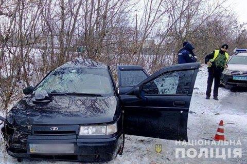 В Краматорске из-за столкновения 'десятки' с автобусом погибли три че