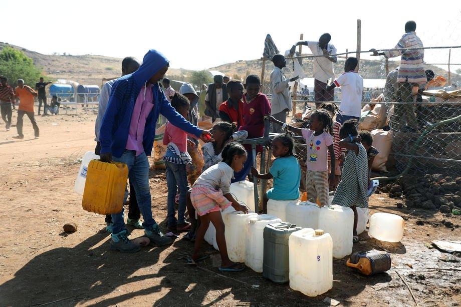 Табір для біженців з Ефіопії в Судані, 28 листопада 2020 р.
